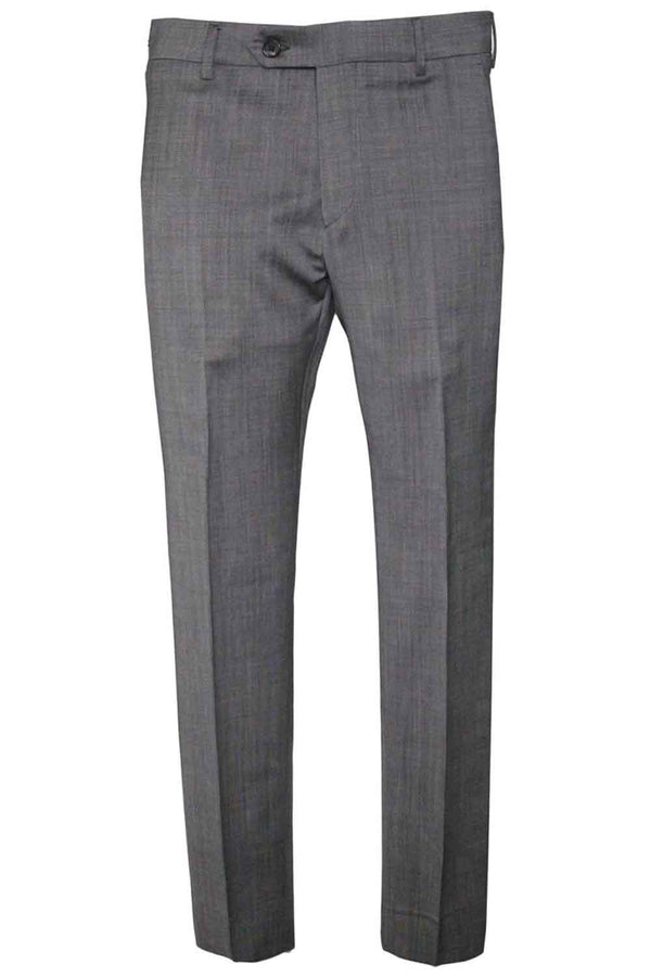 PANTALONE BE ABLE IN FRESCO LANA COLORE GRIGIO ALEXANDER SHORTED SMO 19GRIGIO - Pantaloni e jeans - BE ABLE  - Manida Shop Online-[variant_SKU]- [product_description]