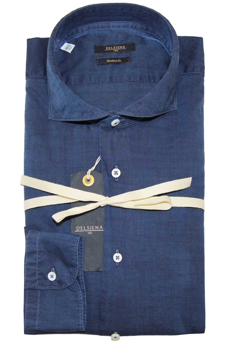 Camicia chambray - DEL SIENA - Camicia - DEL SIENA  - Manida Shop Online-[variant_SKU]- [product_description]