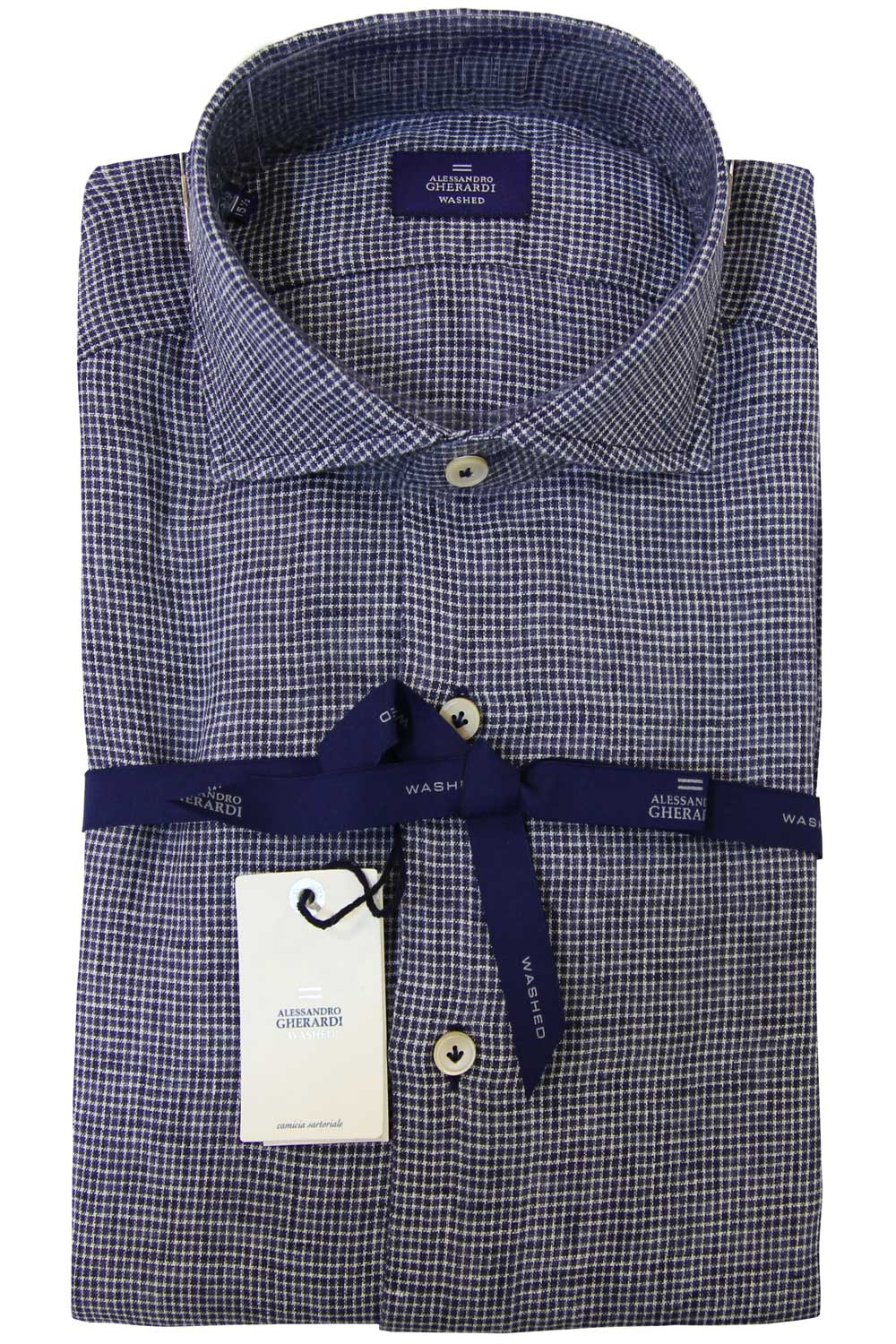 Image of Camicia in lino - GHERARDI