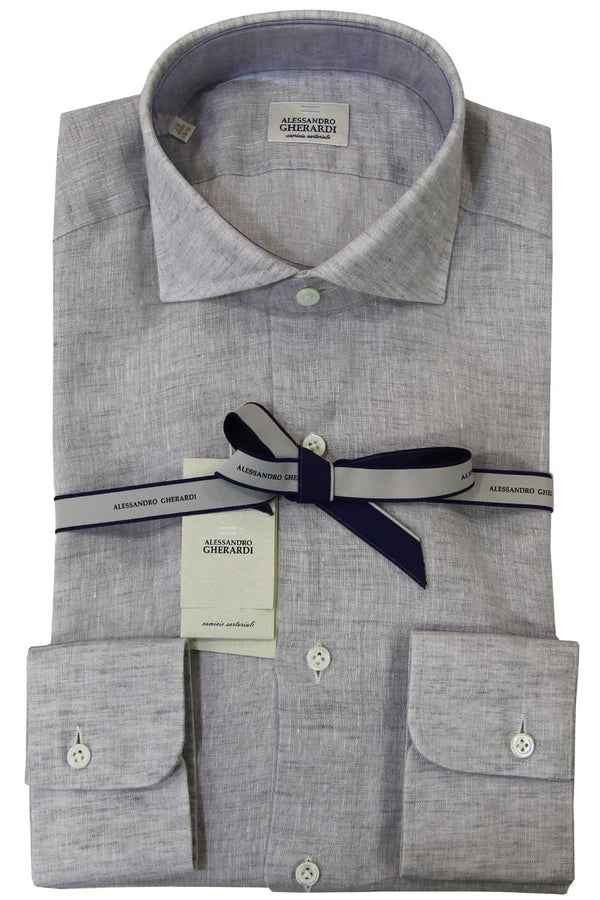 Camicia in lino - GHERARDI - Camicia - GHERARDI  - Manida Shop Online-[variant_SKU]- [product_description]