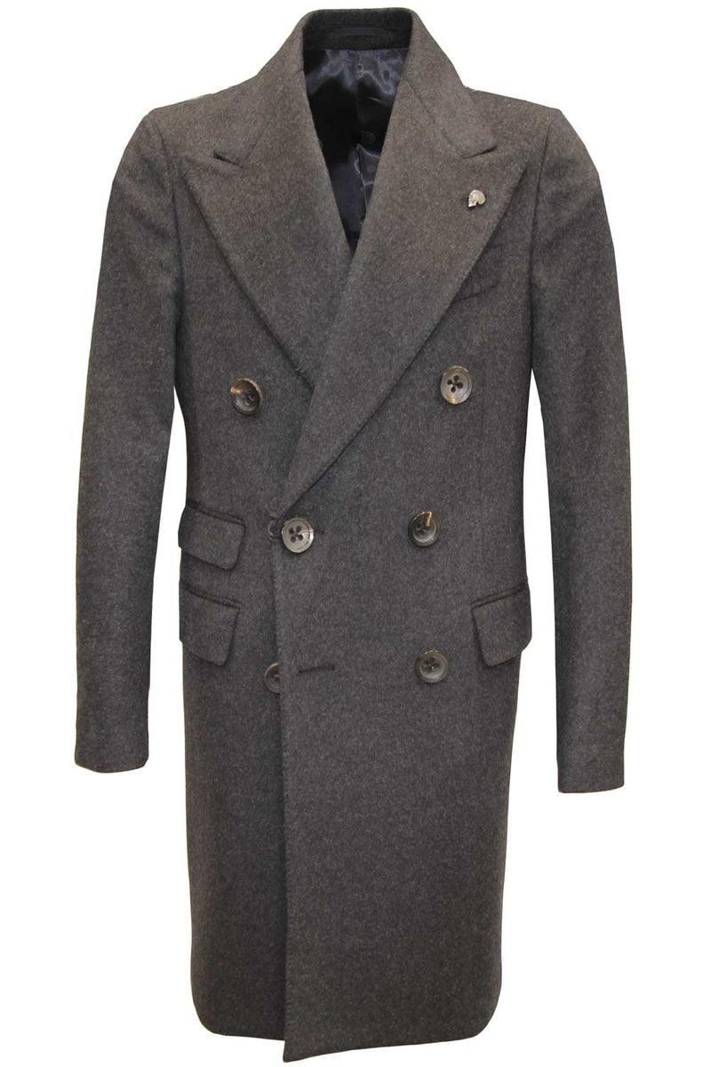 Cappotto doppiopetto - GABRIELE PASINI - Cappotto - GABRIELE PASINI  - Manida Shop Online-[variant_SKU]- [product_description]