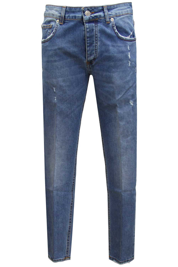 Jeans Davis Shorter - BE ABLE - Pantaloni e jeans - BE ABLE  - Manida Shop Online-[variant_SKU]- [product_description]