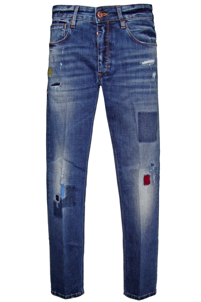 Jeans used toppe-DON THE FULLER - Pantaloni e jeans - DON THE FULLER  - Manida Shop Online-[variant_SKU]- [product_description]