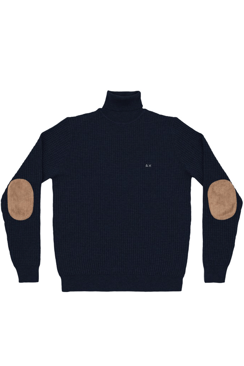 Maglione colloalto teddy- SUN 68 - Maglia - SUN 68  - Manida Shop Online-[variant_SKU]- [product_description]