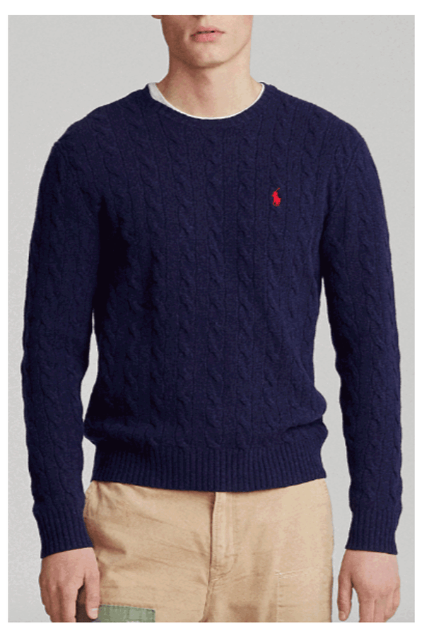 Maglia Treccia- POLO  RALPH LAUREN - Maglia - POLO RALPH LAUREN  - Manida Shop Online-[variant_SKU]- [product_description]