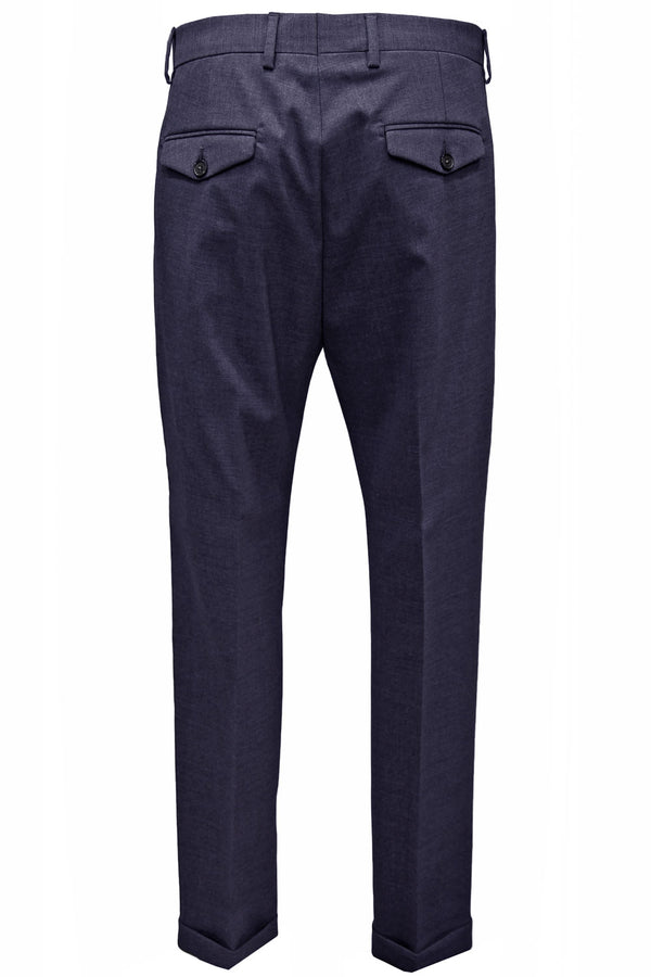 Pantalone in lana - BE ABLE - Pantaloni e jeans - BE ABLE  - Manida Shop Online-[variant_SKU]- [product_description]