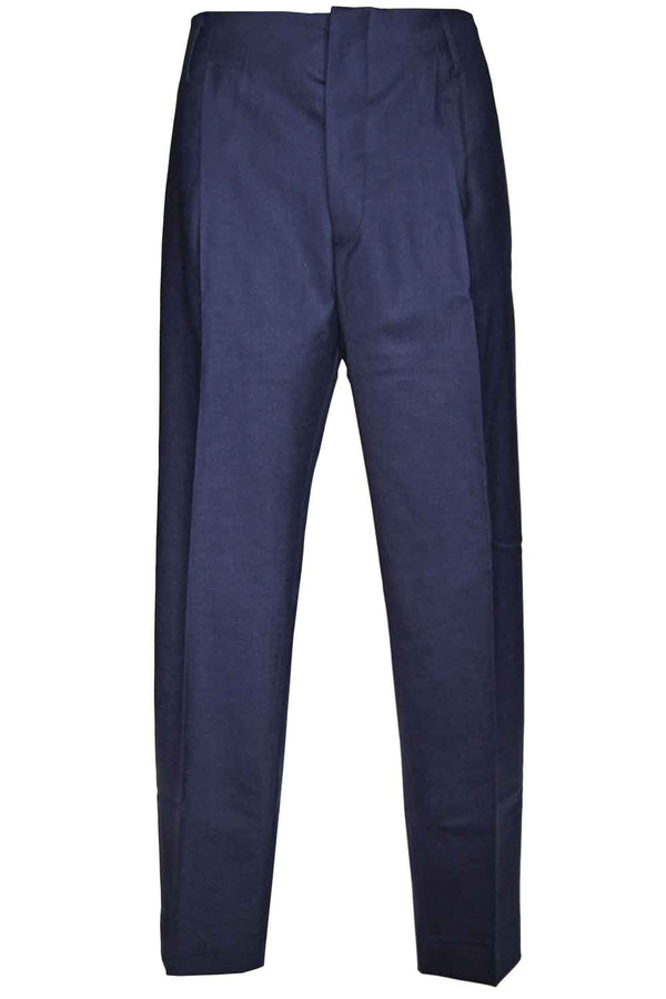 Pantalone blu in lana- BE ABLE - Pantaloni e jeans - BE ABLE  - Manida Shop Online-[variant_SKU]- [product_description]