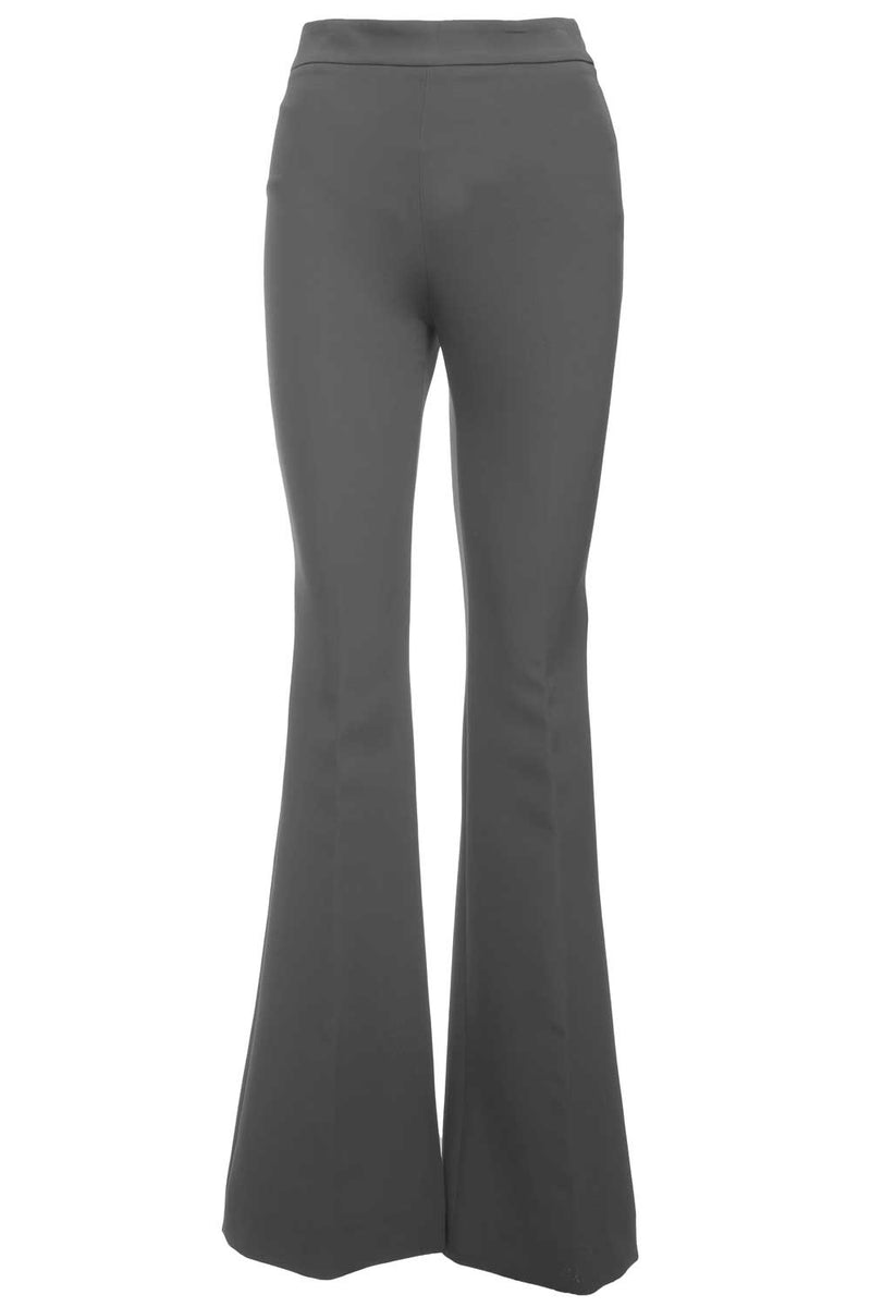 Pantalone in crepe  a zampa .- ALESSANDRO DELL'ACQUA - Pantaloni e jeans - ALESSANDRO DELL'ACQUA  - Manida Shop Online-[variant_SKU]- [product_description]