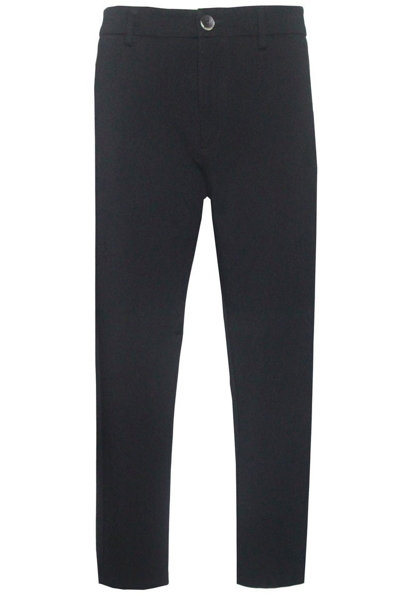 Pantalone nero con pince- LOW BRAND - Pantaloni e jeans - LOW BRAND  - Manida Shop Online-[variant_SKU]- [product_description]