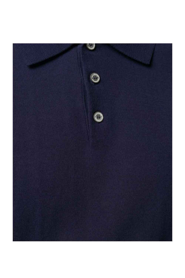 Polo in filo- BALLANTYNE - Maglia - BALLANTYNE  - Manida Shop Online-[variant_SKU]- [product_description]