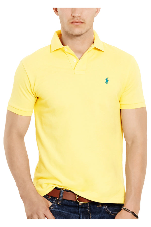 Tshirt giallo - POLO RALPH LAUREN - T-shirt - POLO RALPH LAUREN  - Manida Shop Online-[variant_SKU]- [product_description]