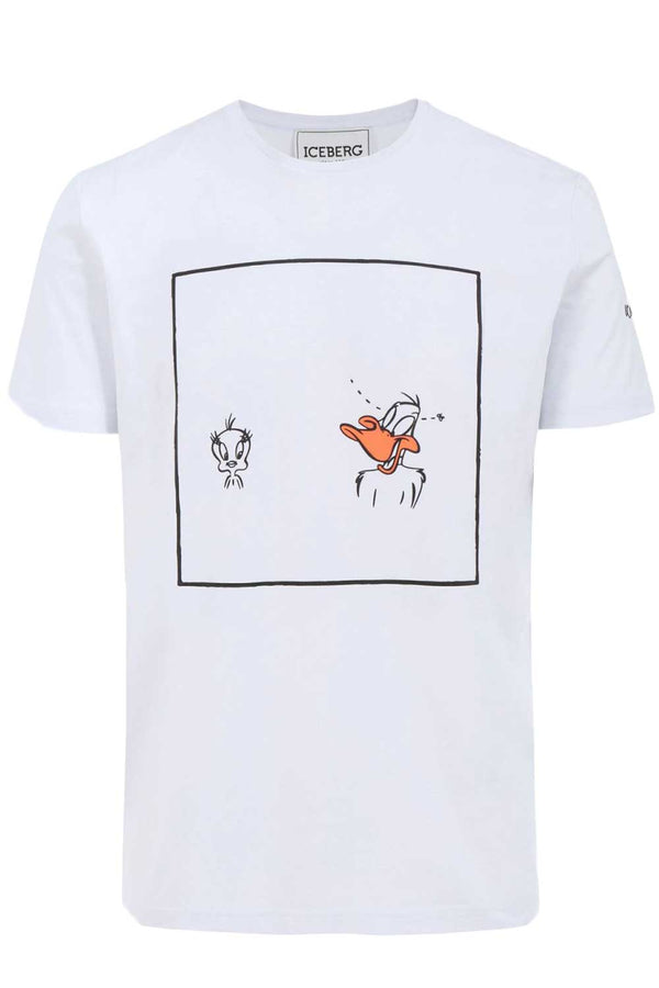 Tshirt duffy duck-ICEBERG - T-shirt - ICEBERG  - Manida Shop Online-[variant_SKU]- [product_description]