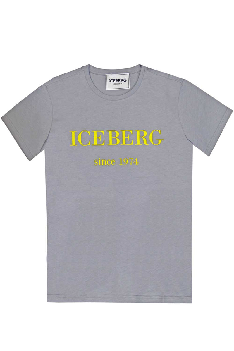 Tshirt con stampa frontale - ICEBERG - T-shirt - ICEBERG  - Manida Shop Online-[variant_SKU]- [product_description]