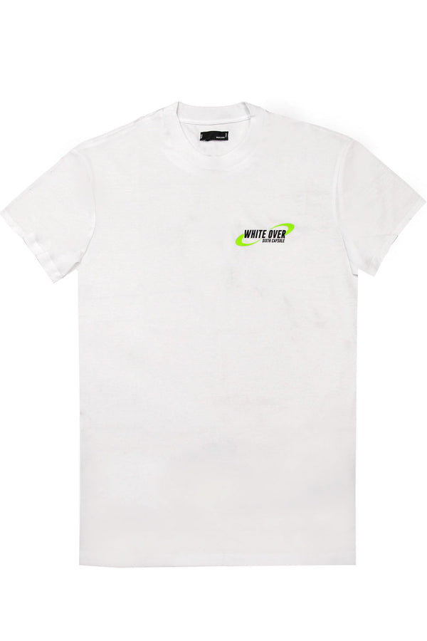Tshirt in cotone - WHITE OVER - T-shirt - WHITE OVER  - Manida Shop Online-[variant_SKU]- [product_description]