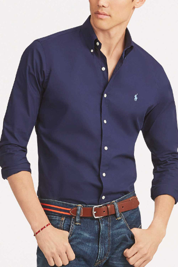 Camicia in popeline - POLO RALPH LAUREN - Camicia - POLO RALPH LAUREN  - Manida Shop Online-[variant_SKU]- [product_description]