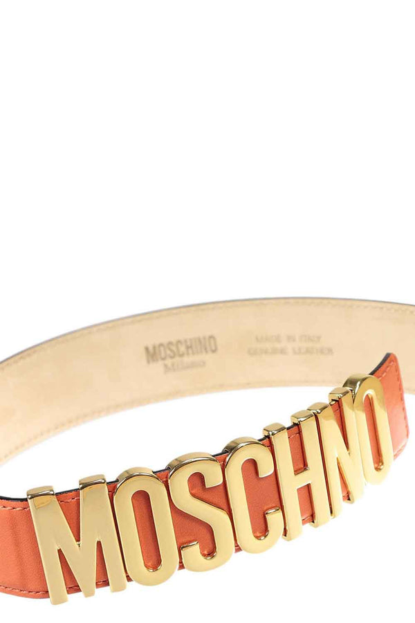 Cintura con lettering - MOSCHINO - Cintura - MOSCHINO  - Manida Shop Online-[variant_SKU]- [product_description]