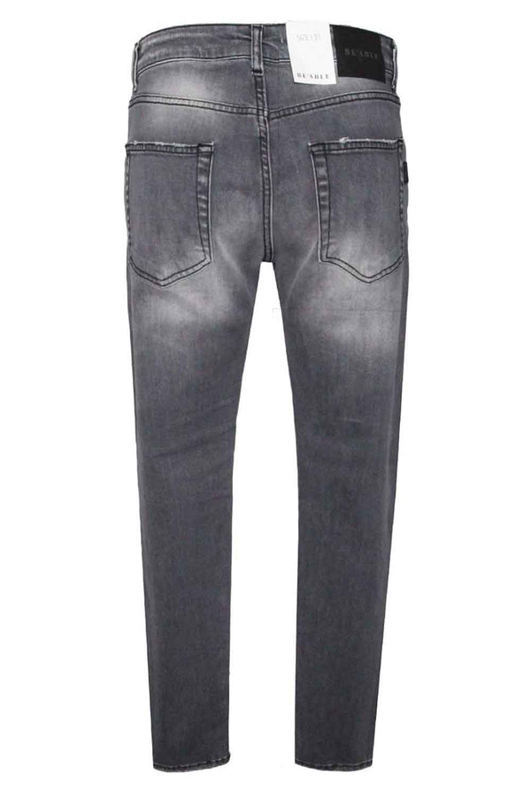 Jeans grigio- BE ABLE - Pantaloni e jeans - BE ABLE  - Manida Shop Online-[variant_SKU]- [product_description]