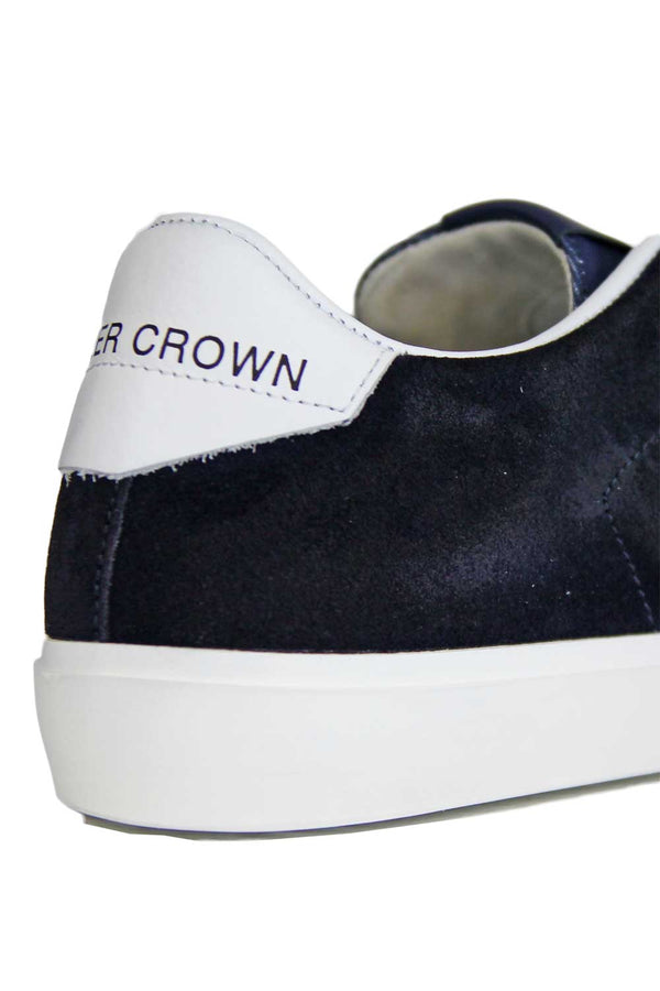 Scarpe con retro a contrasto - LEATHER CROWN