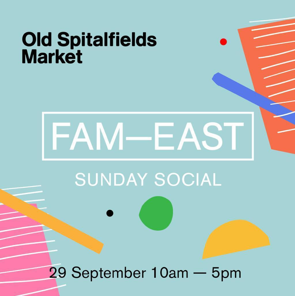 Visit us at the Fam East festival in London-Scout & Co