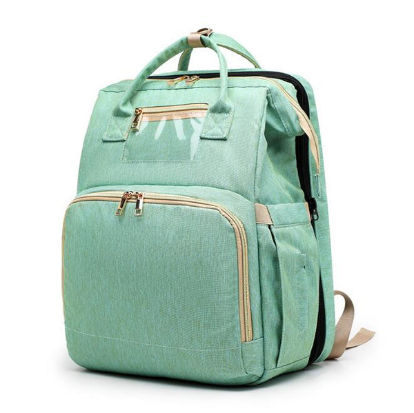 2 in 1 Multifunctional Diaper Bag Backpack