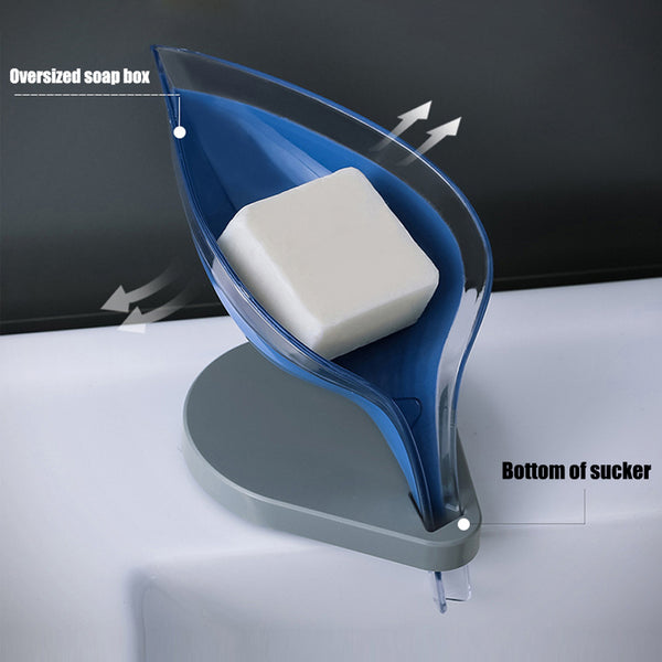 Creative Nordic Soap Holder with Drain Tail