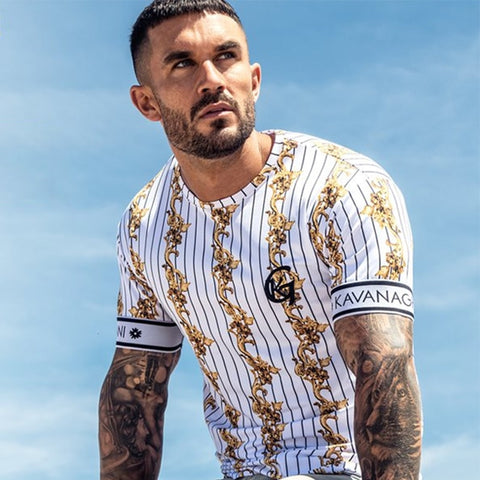 Men Casual Streetwear Summer T Shirt