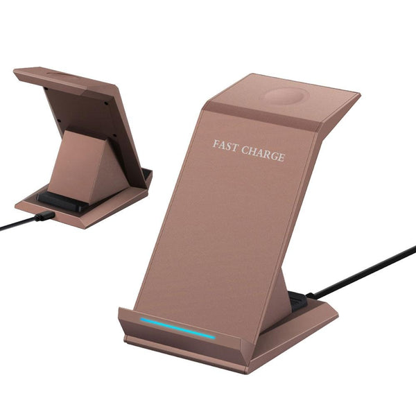 Wireless Fast Charger 3-in-1 Mobile Holder iPhone Charger Samsung Charger