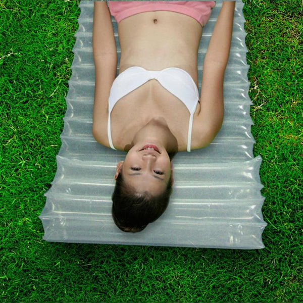 Outdoor Air Inflatable Mattress Cushion for Camping and Picnic