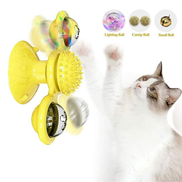 Cat Rotating Windmill Toy