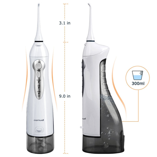 Oral Irrigator USB Rechargeable Water Flosser Portable Dental Water Teeth cleaner