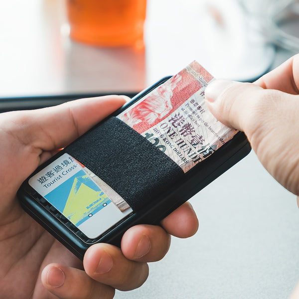 Slide Card Holder Wallet
