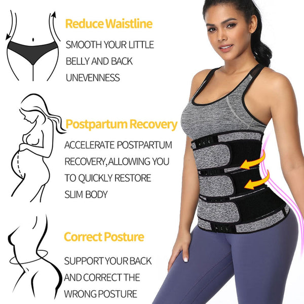 Belly Band Waist Fat burner Slimmer