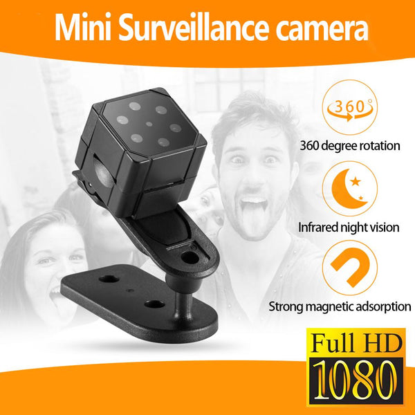 1080P HD Portable Mini Camera Handheld with 32GB Memory Card