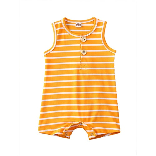 Newborn Baby Boy Girl Summer Romper