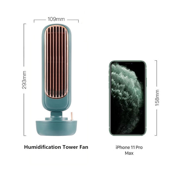 Mini Portable Air Conditioner Multi-functional Humidifier Purifier USB Air Cooler