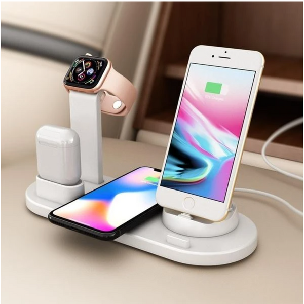 4 in 1 Wireless Charger For iOS and Android Smart Phones