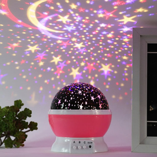 Projector Bed Glow Lamp