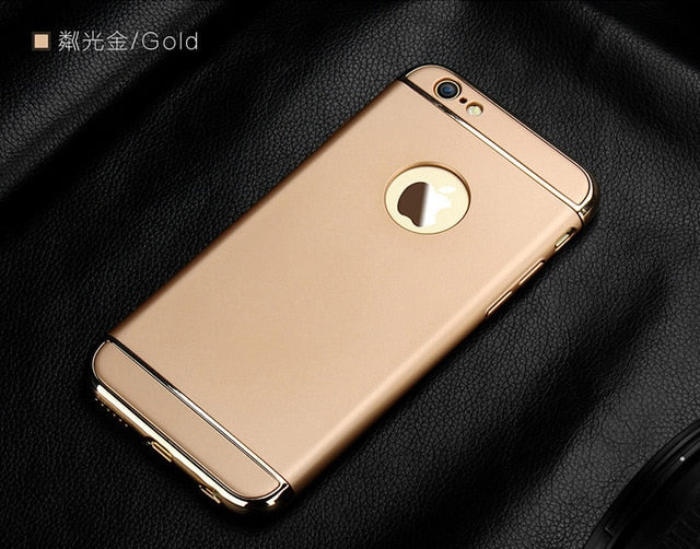 Simple & Luxury Plating iPhone Case