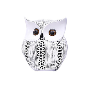 Mysterious Owl Ornament Figurine