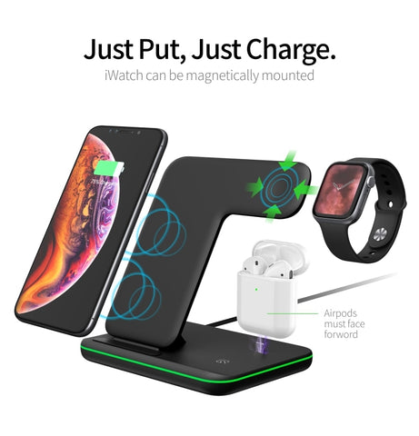 3 in 1 iPhone & AirPods & Watch Charger