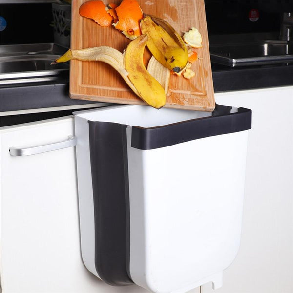 Folding And Hanging Waste Bin