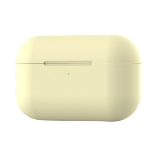 For Apple Airpods Pro 3 With Hook Liquid Silicone Solid Color Protective Case Wireless Bluetooth Headset Case