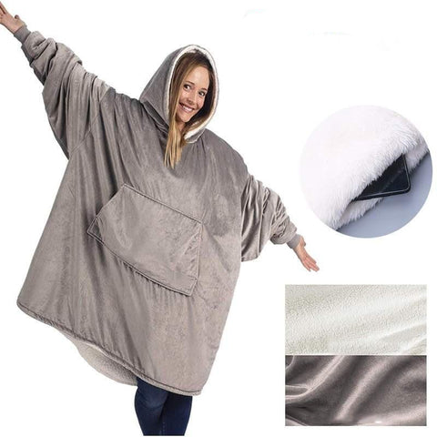Oversized Cozy Blanket Sweatshirt Oodie