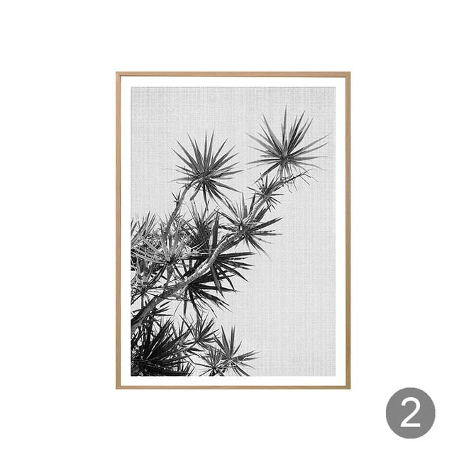 Shades of Plants - Nordic Print Poster