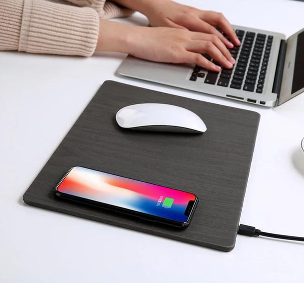Smart Phone Wireless Charging Mouse Pad