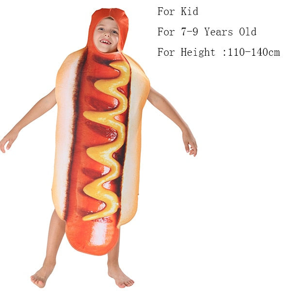 Family Carnival Hot Dogs Cosplay