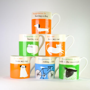Our Mug Collection.
