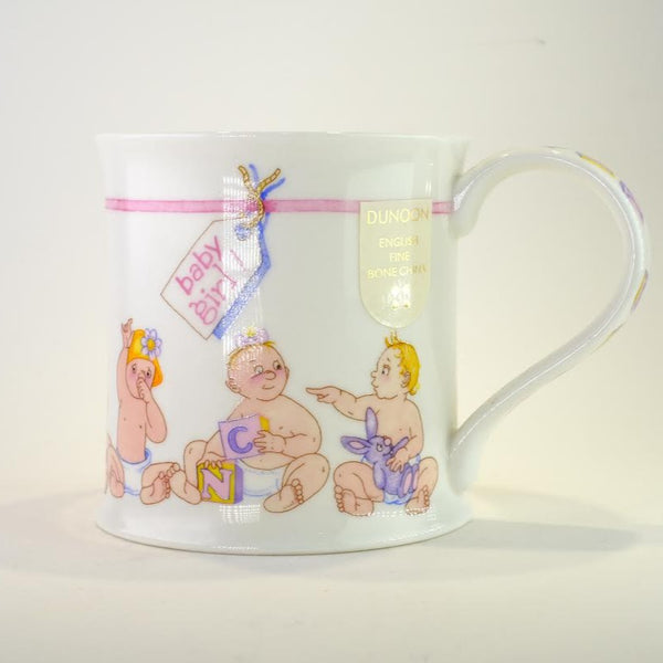 'Baby Girl' Bone China Mug.