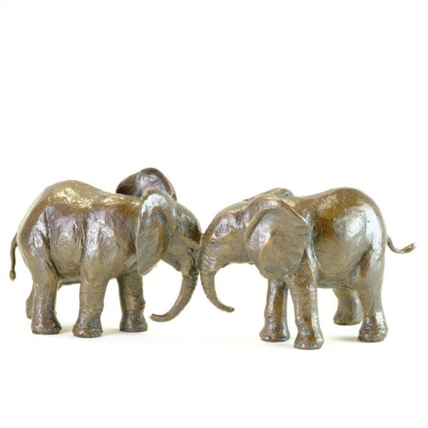Bronze 'Best Friends Elephants' by Michael Simpson.