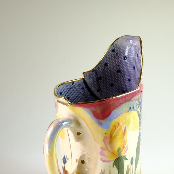 Handmade Ceramic Secret Garden Jug.